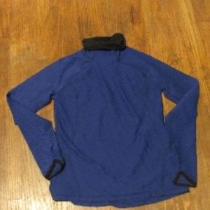 Lucy Blue Long Sleeve Shirt with Thumb Holes